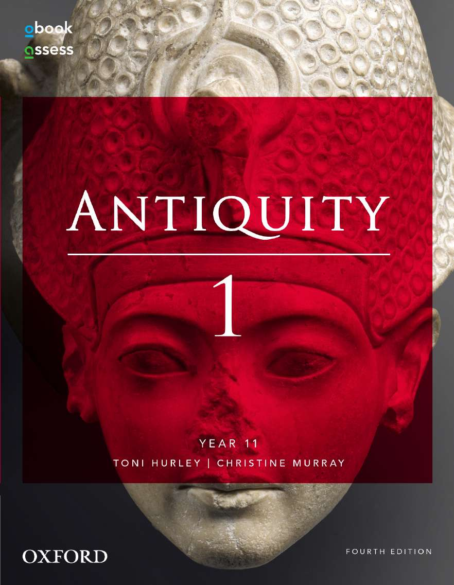 Antiquity 1 Year 11 Student book + obook assess