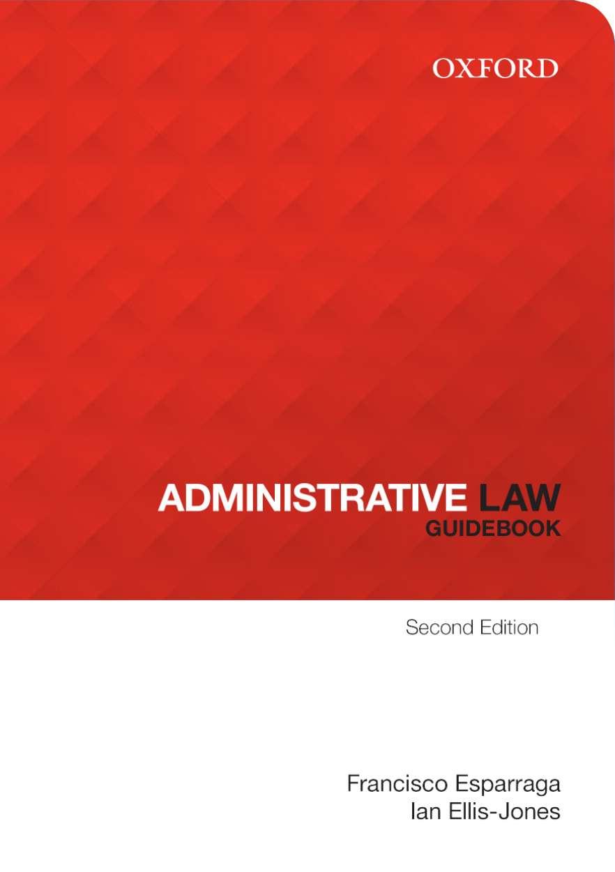 Administrative Law GuideBook eBook