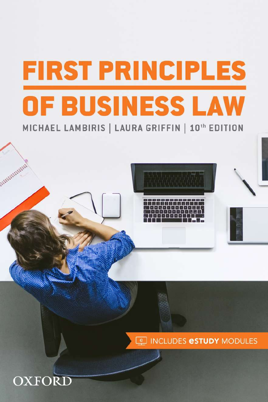 First Principles of Business Law eBook