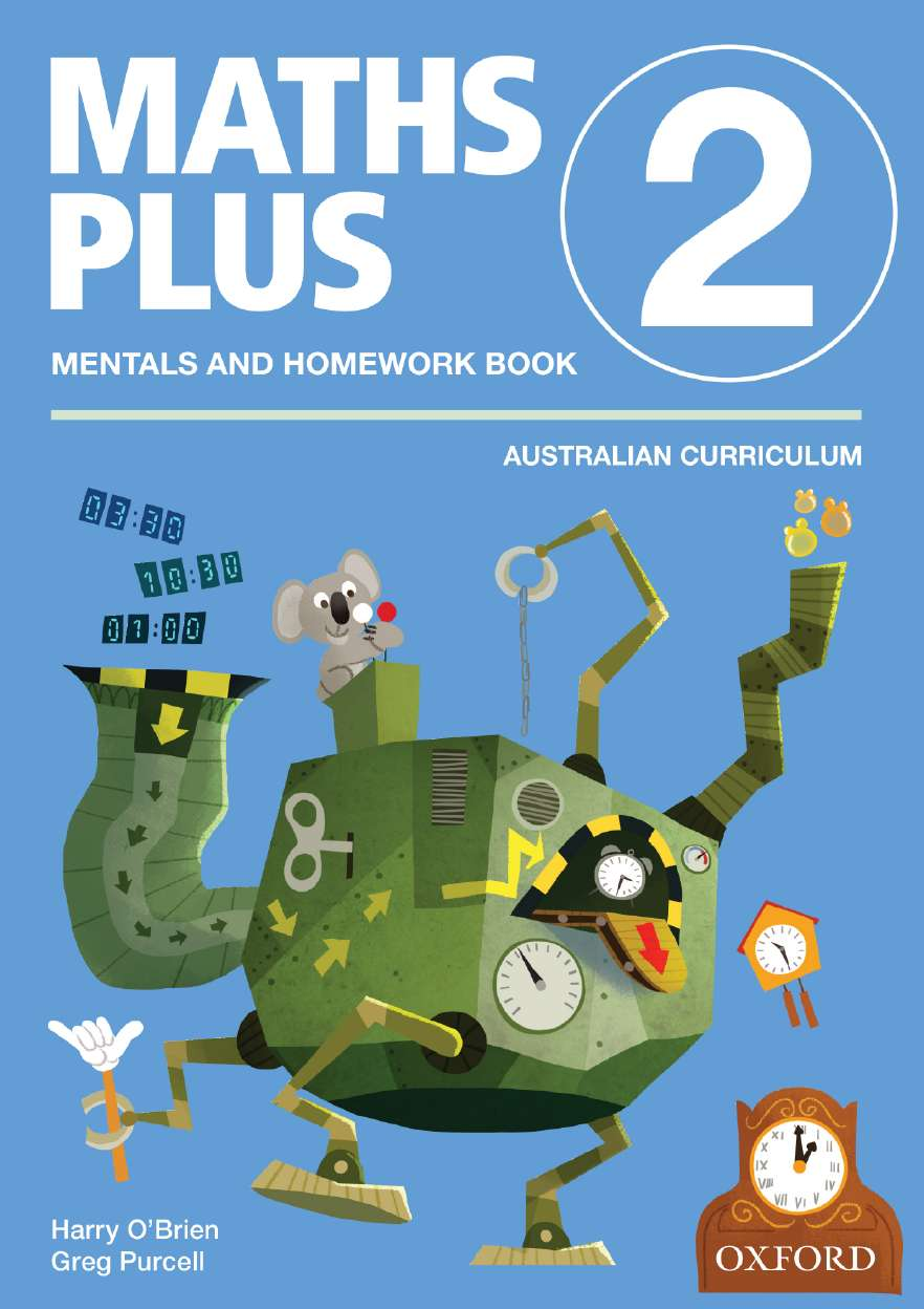 Maths Plus Aus Curriculum Edition Mentals & Homework Book 2 Revised Ed 2016