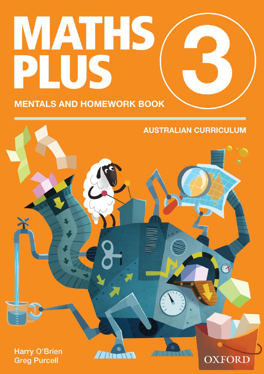 Maths Plus Aus Curriculum Edition Mentals & Homework Book 3 Revised Ed 2016