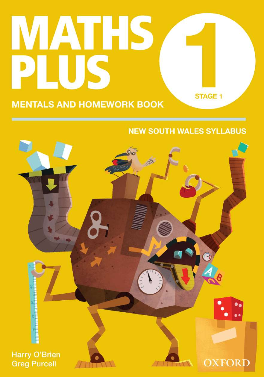 Maths Plus NSW Aus Curriculum Ed Mentals & Homework Book 1 Revised Ed 2016