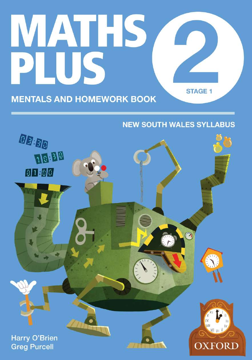 Maths Plus NSW Aus Curriculum Ed Mentals & Homework Book 2 Revised Ed 2016