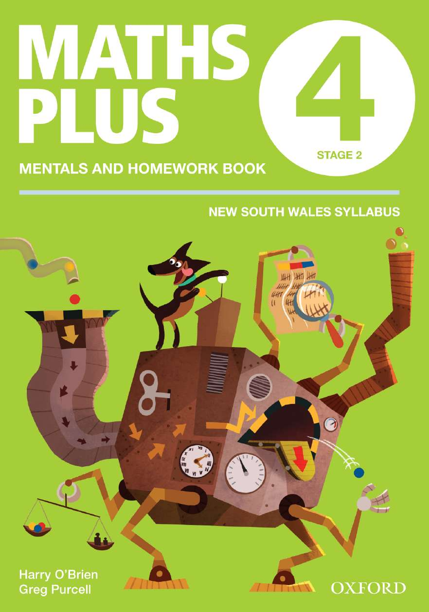 Maths Plus NSW Aus Curriculum Ed Mentals & Homework Book 4 Revised Ed 2016