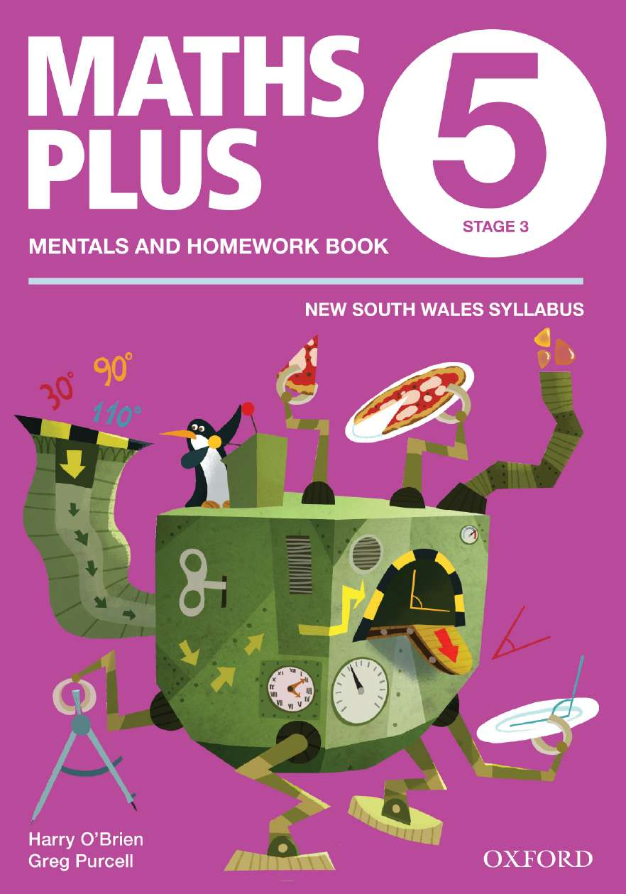 Maths Plus NSW Aus Curriculum Ed Mentals & Homework Book 5 Revised Ed 2016