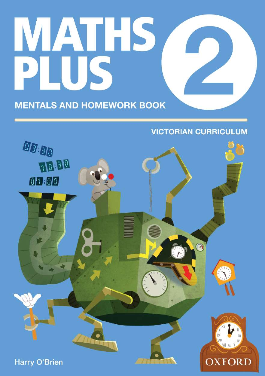 Maths Plus VIC Aus Curriculum Edition Mentals & Homework Book 2 2016