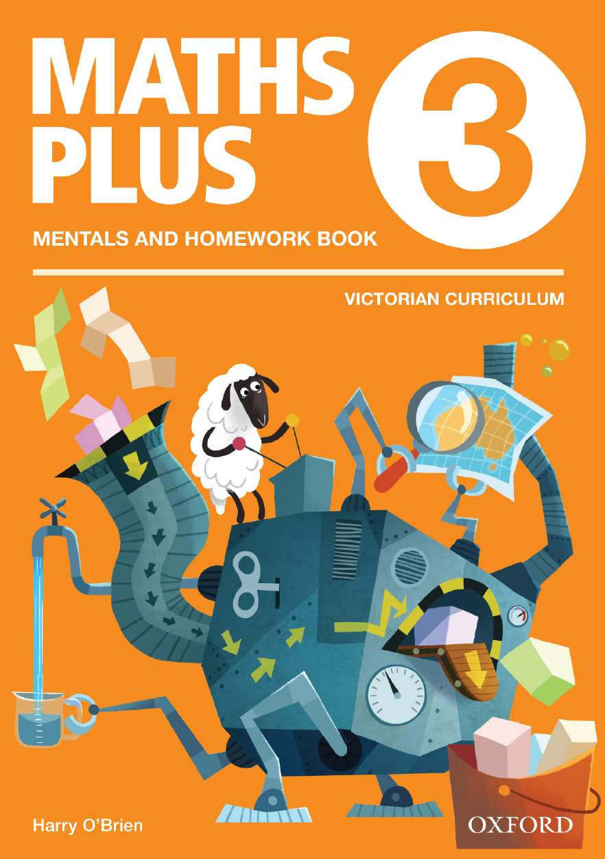 Maths Plus VIC Aus Curriculum Edition Mentals & Homework Book 3 2016