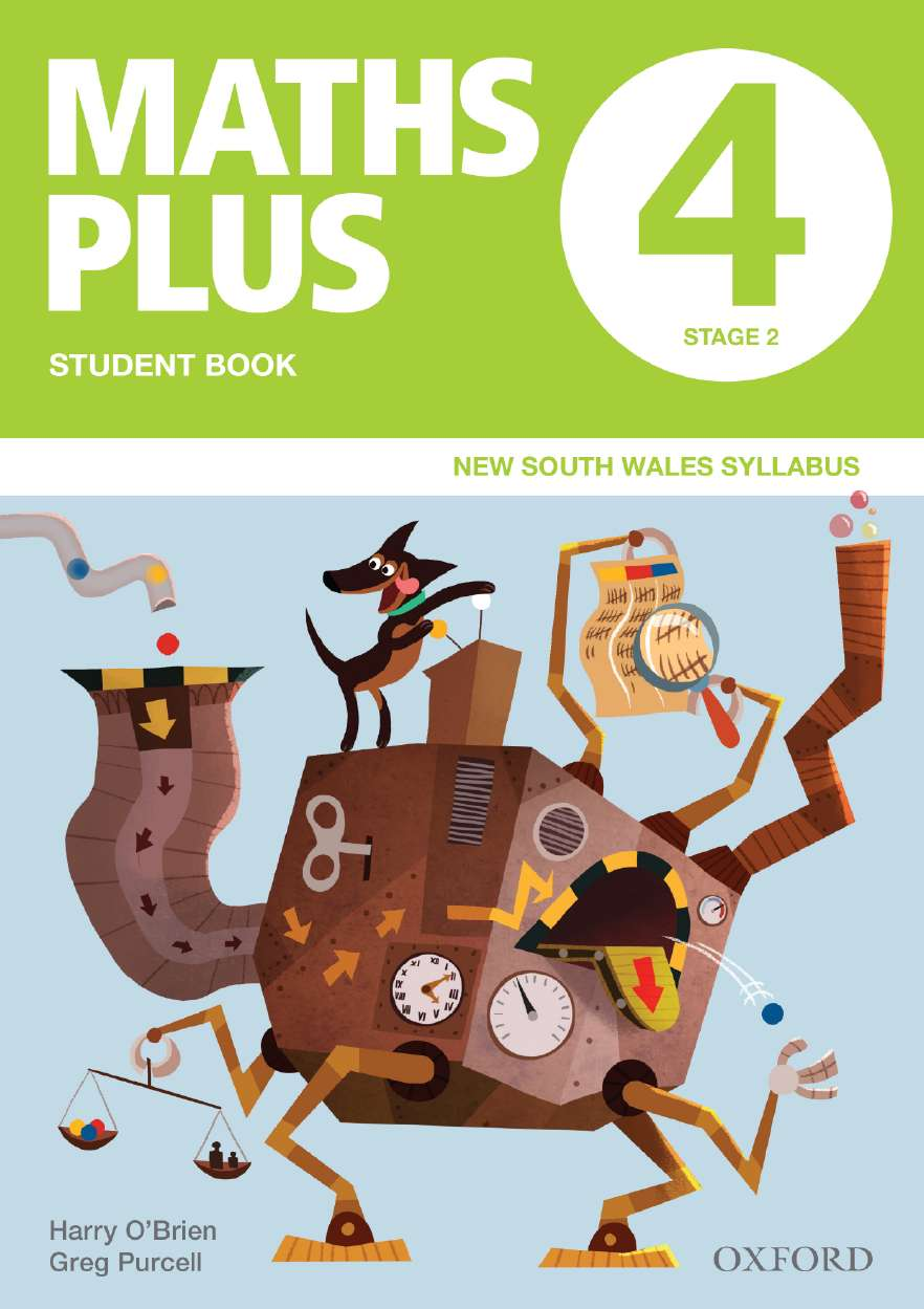 Maths Plus NSW Australian Curriculum Ed Student and Assessment Book 4 Value Pack