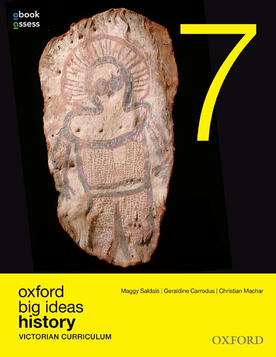Oxford Big Ideas History 7 Victorian Curriculum Student book + obook assess