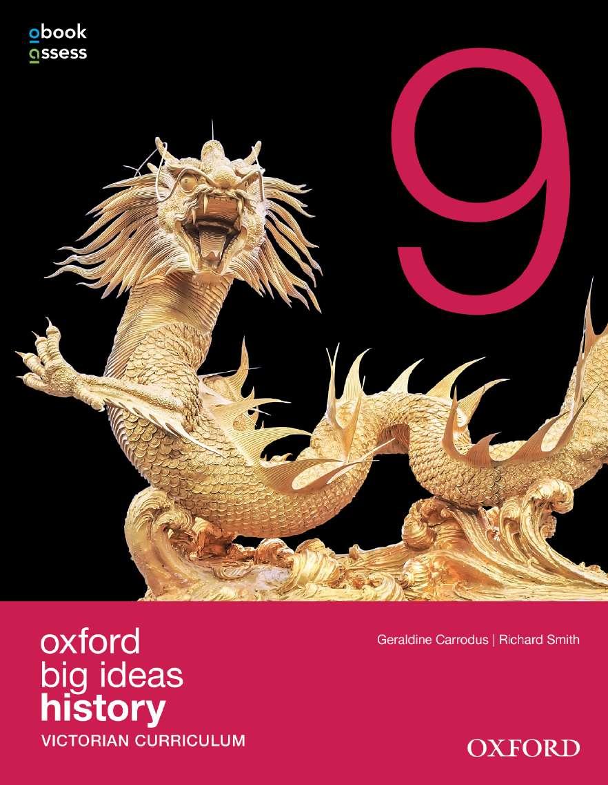 Oxford Big Ideas History 9 Victorian Curriculum Student book + obook assess