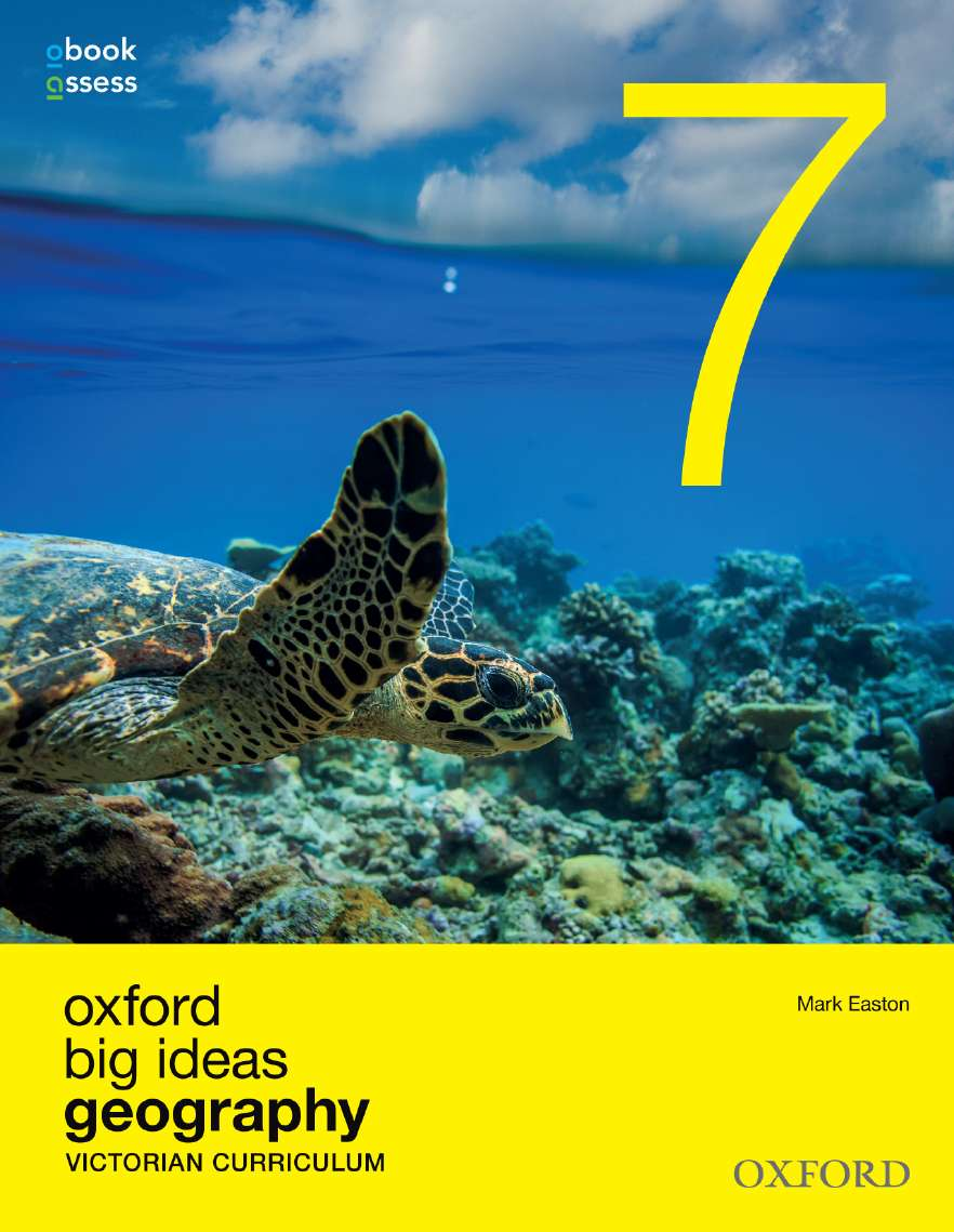 Oxford Big Ideas Geography 7 Victorian Curriculum Student Book + obook/assess