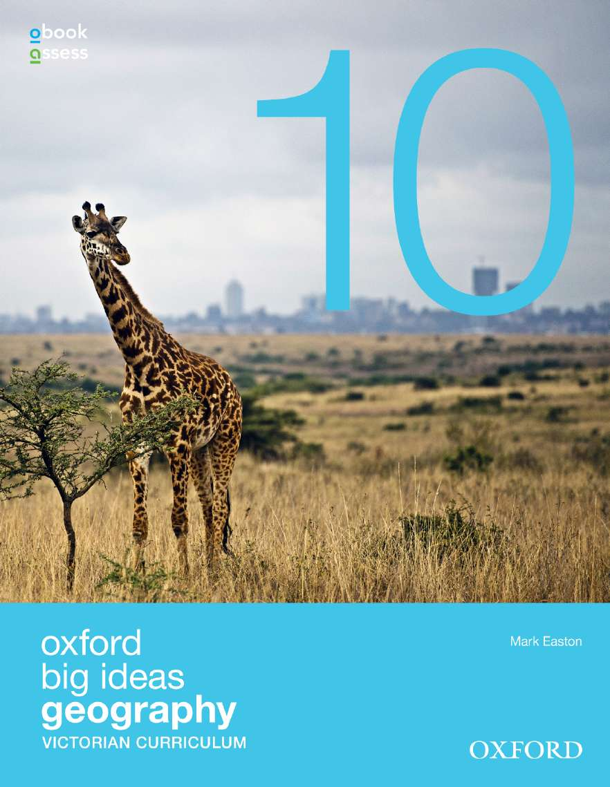 Oxford Big Ideas Geography 10 Victorian Curriculum Student Book + obook assess