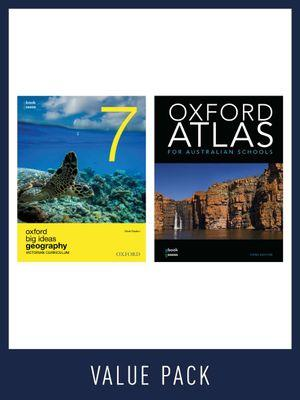 Oxford Big Ideas Geography 7 Victorian Curriculum + Atlas Value Pack