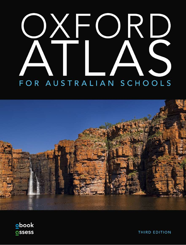 Oxford Atlas for Australian Schools + obook assess