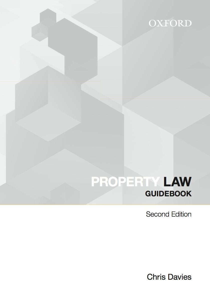 Property Law Guidebook 2e ebook - 6 month access