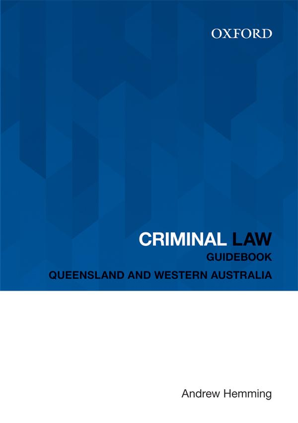 Criminal Law Guidebook ebook - 6 month access