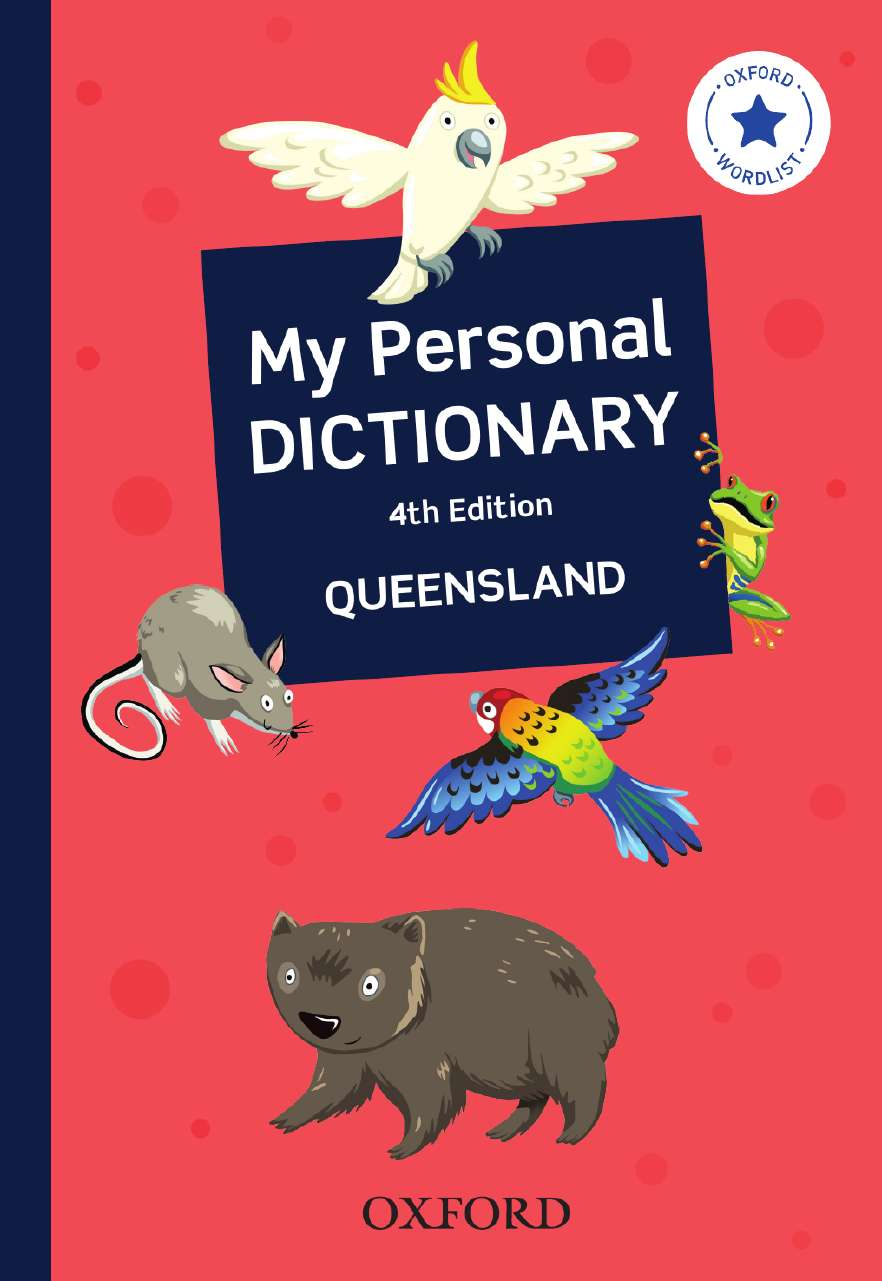 My Personal Dictionary for Queensland