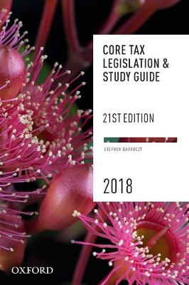 Core Tax Legislation and Study Guide 2018