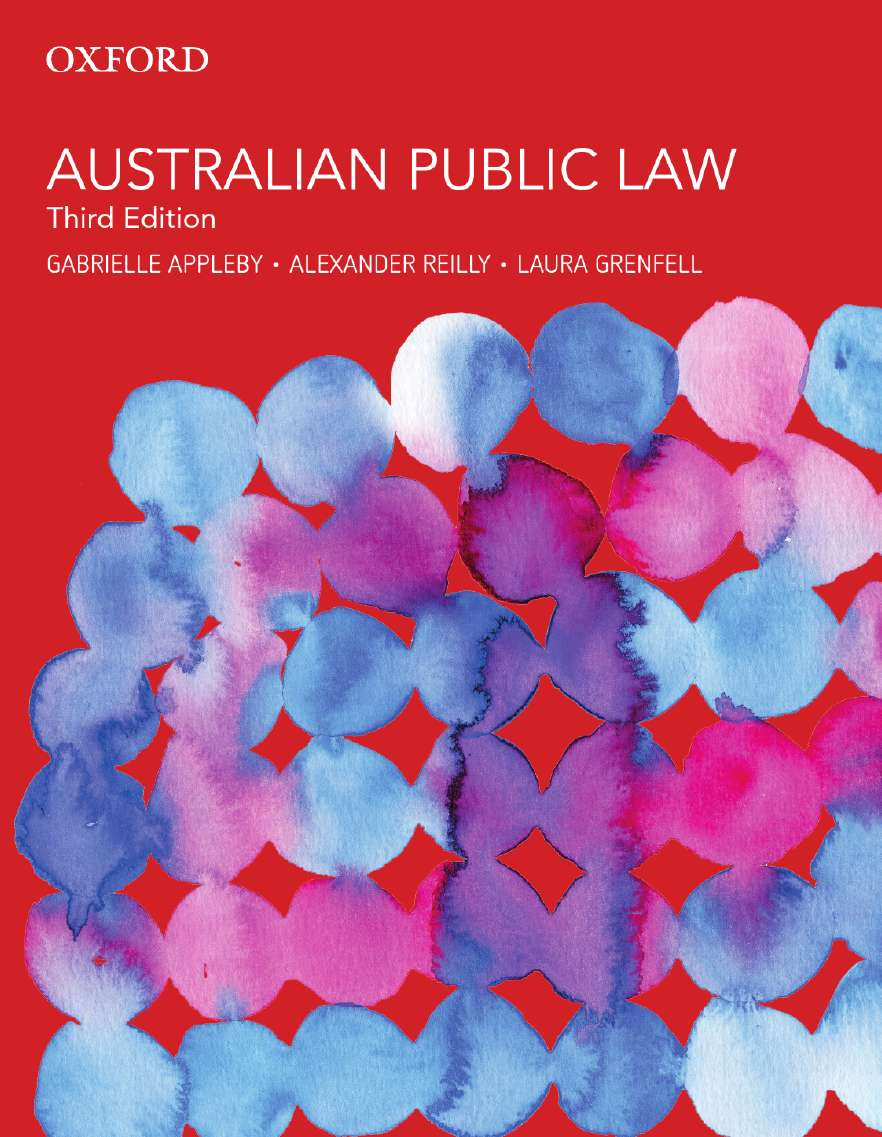 Australian Public Law eBook