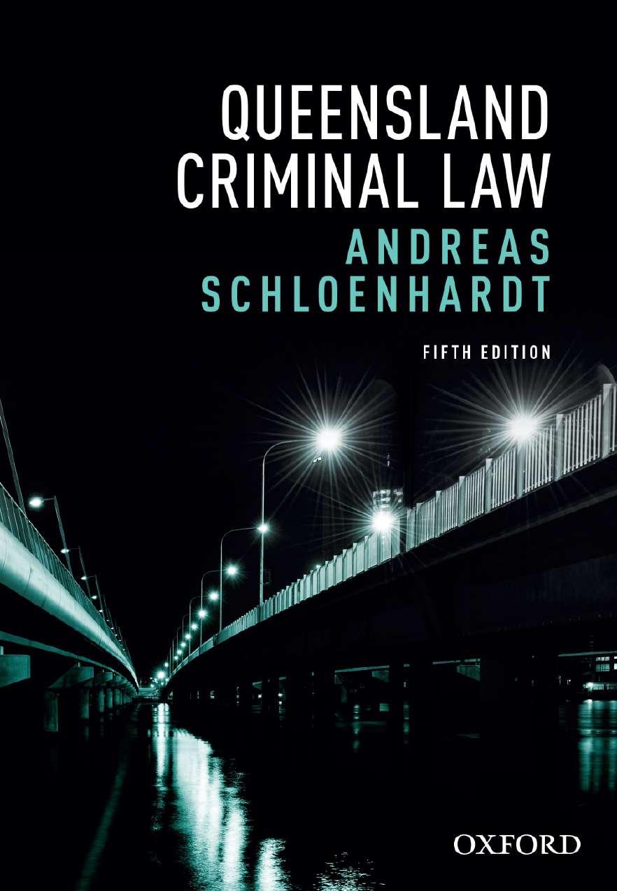 Queensland Criminal Law eBook