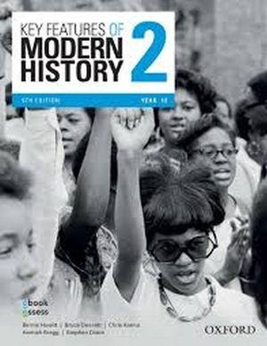 Key Features of Modern History 2 Year 12 Student book + obook assess