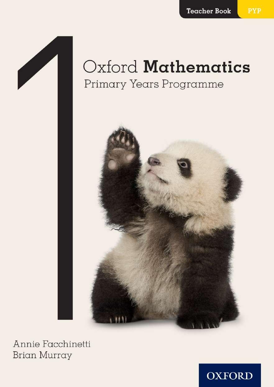 Oxford Mathematics Primary Years Programme Teacher Book 1