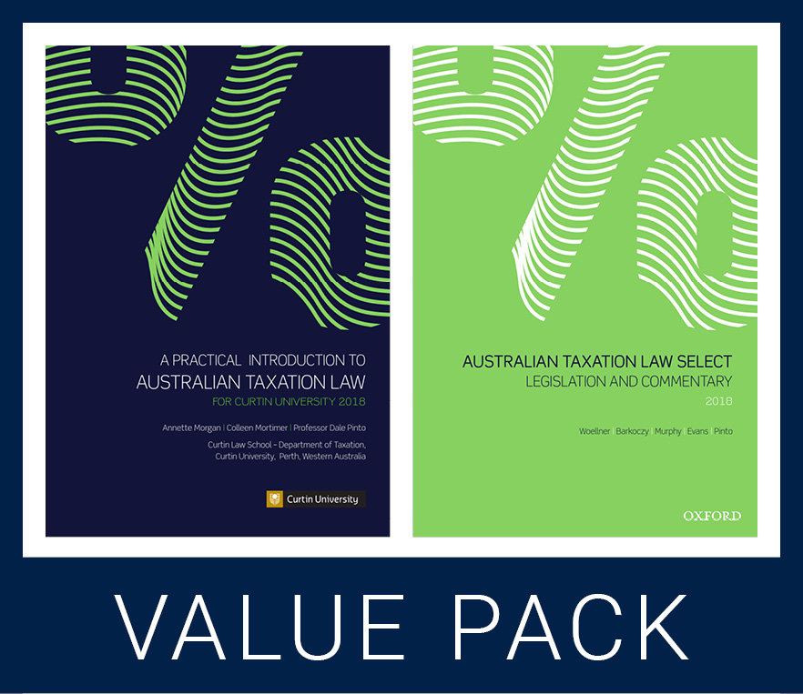 Curtin Tax Law Select Value Pack 2018