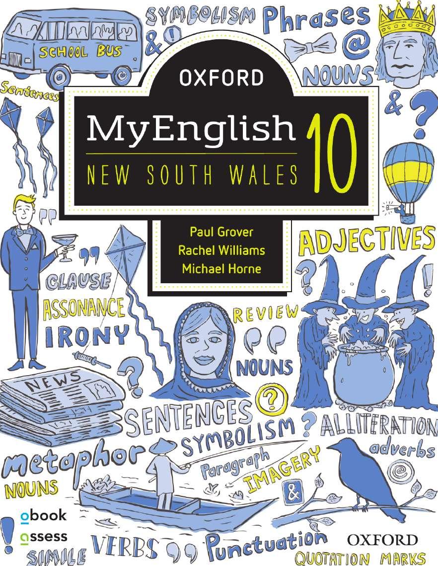 Oxford MyEnglish 10 NSW Student book + obook assess