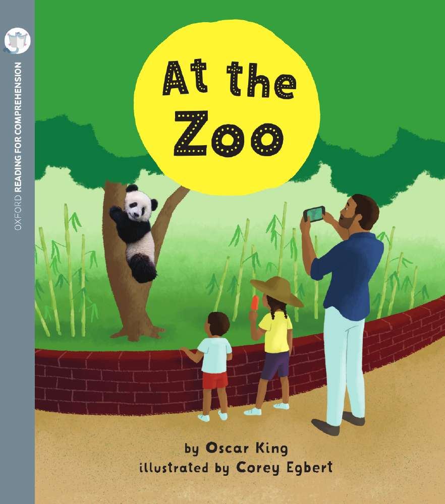 At the Zoo: Oxford Level 2: Pack of 6 with Comprehension Card