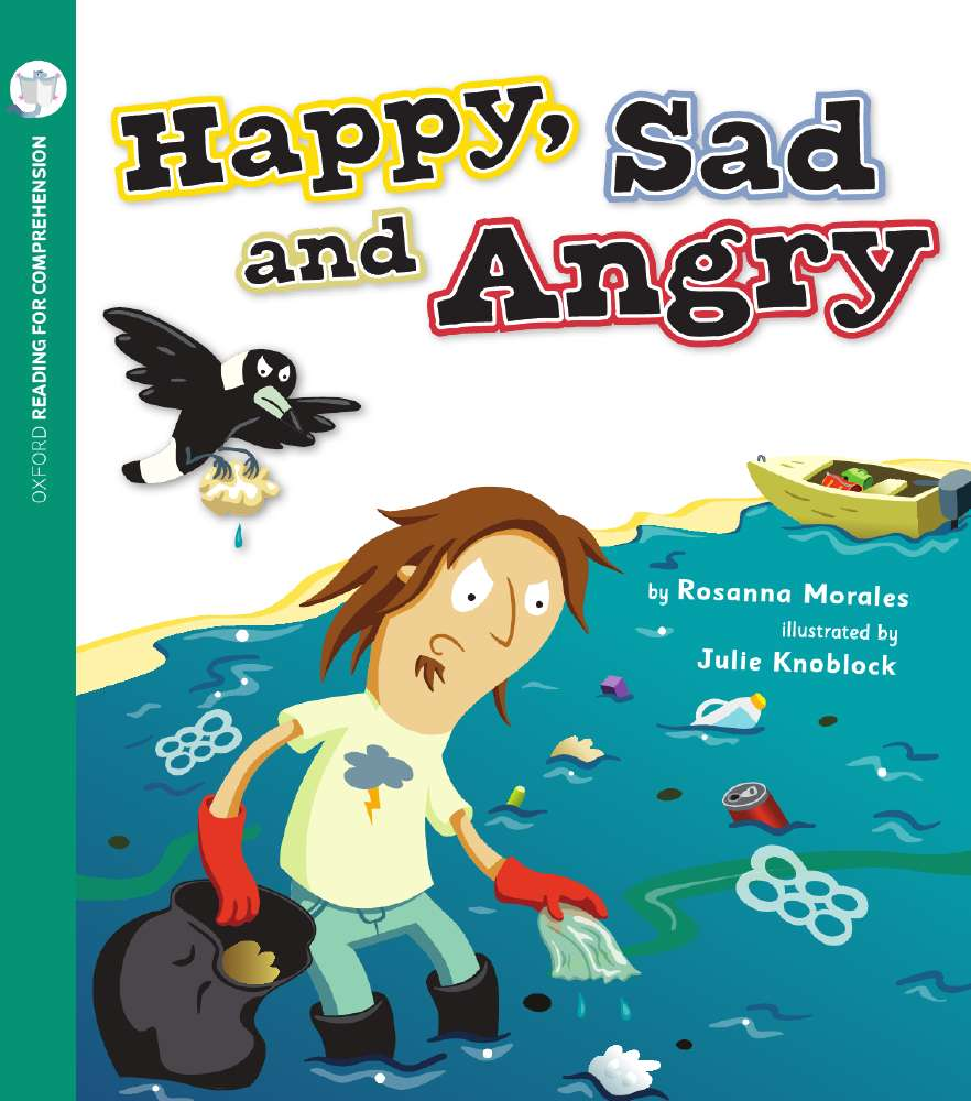 Happy, Sad and Angry: Oxford Level 2: Pack of 6 with Comprehension Card