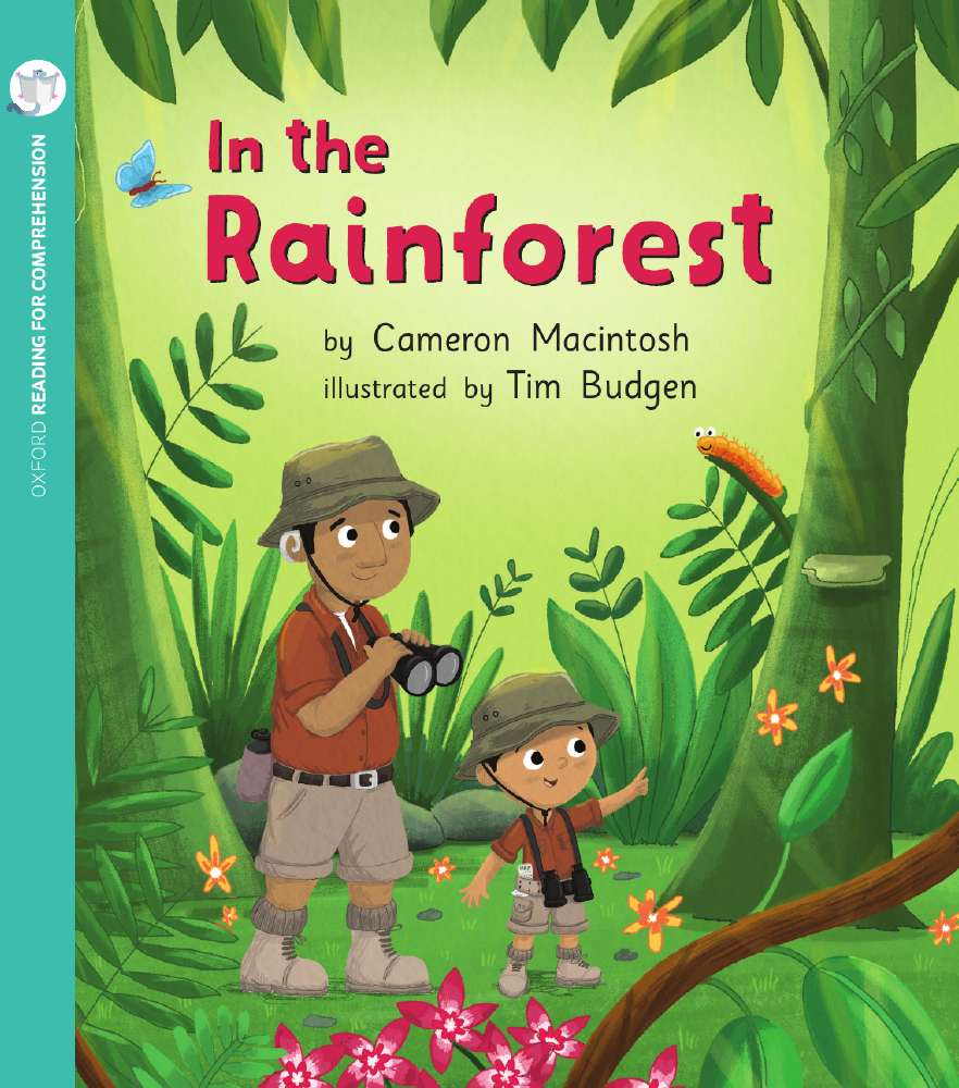 In the Rainforest: Oxford Level 2: Pack of 6 with Comprehension Card