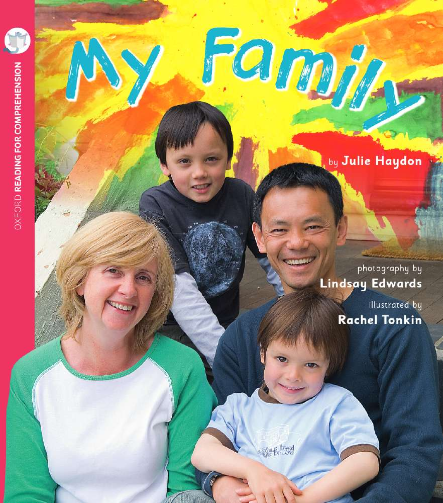 My Family: Oxford Level 3: Pack of 6 with Comprehension Card