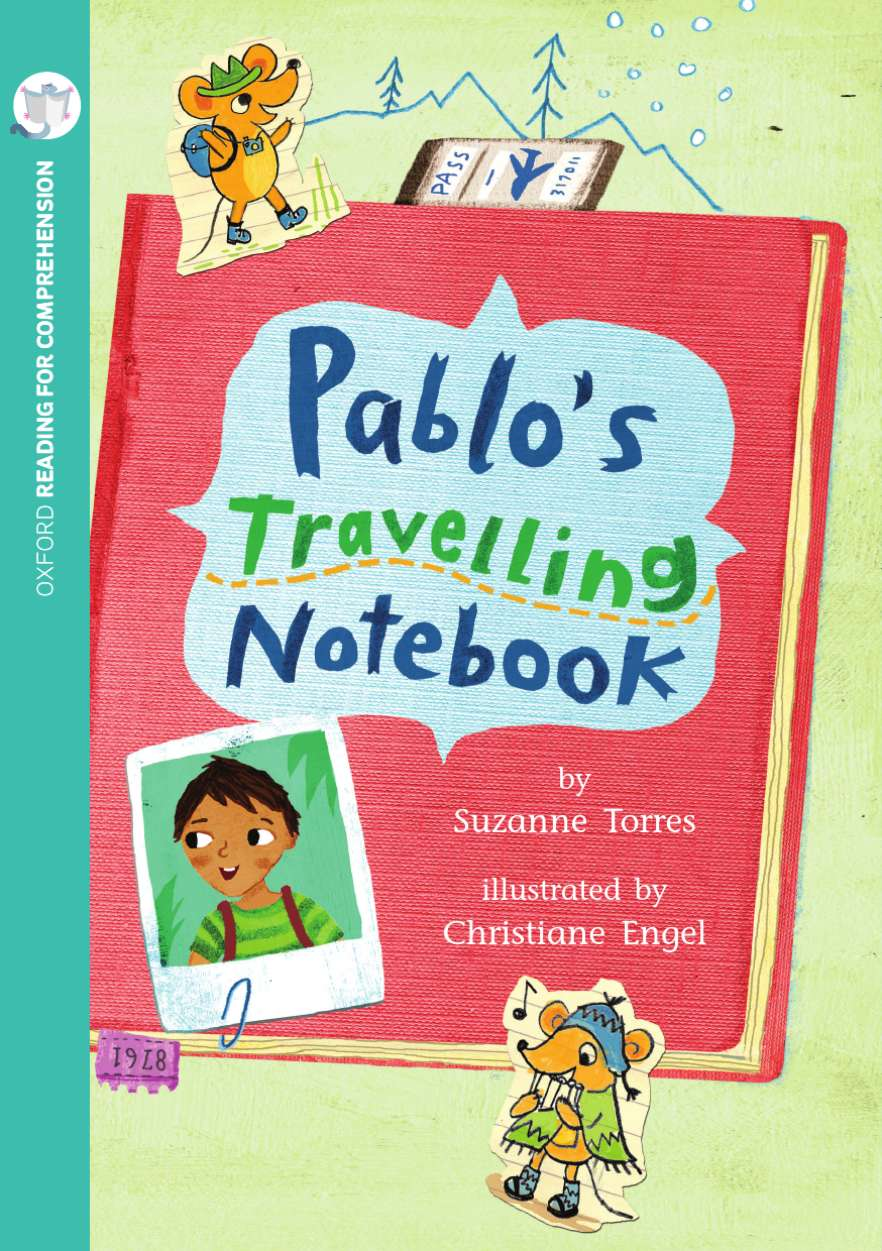 Pablo's Travelling Notebook: Oxford Level 10: Pack of 6 with Comprehension Card