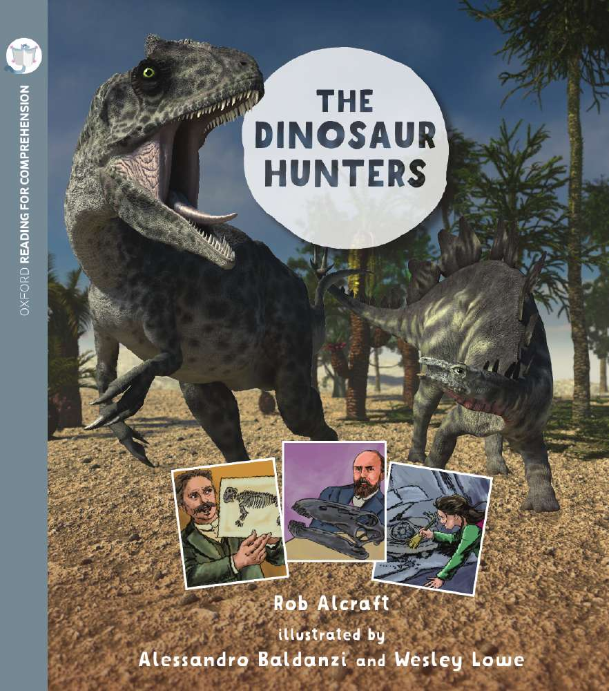 Dinosaur Hunters: Oxford Level 10: Pack of 6 with Comprehension Card