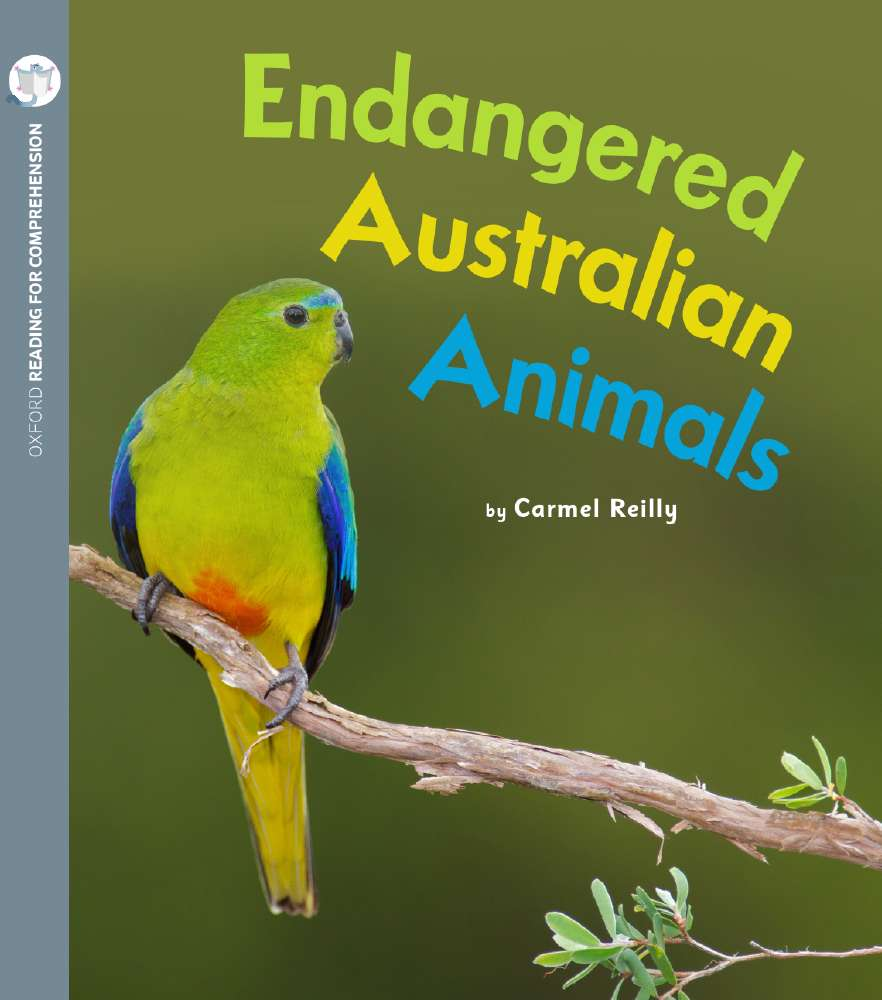 Endangered Australian Animals: Oxford Level 5: Pack of 6 with Comprehension Card