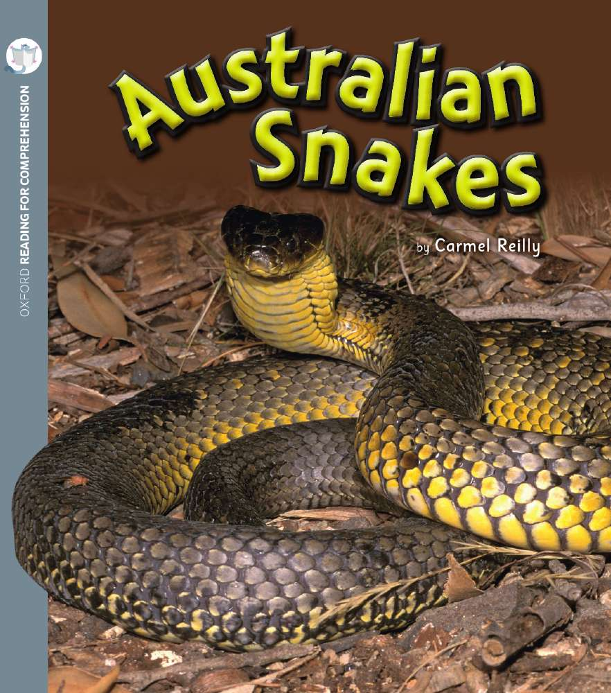 Australian Snakes: Oxford Level 6: Pack of 6 with Comprehension Card