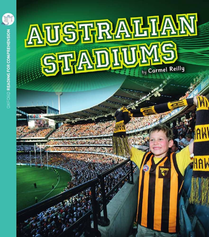 Australian Stadiums: Oxford Level 6: Pack of 6 with Comprehension Card