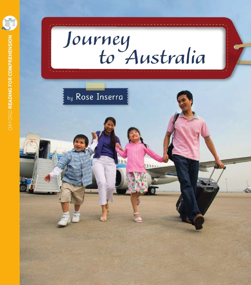 Journey to Australia: Oxford Level 5: Pack of 6 with Comprehension Card