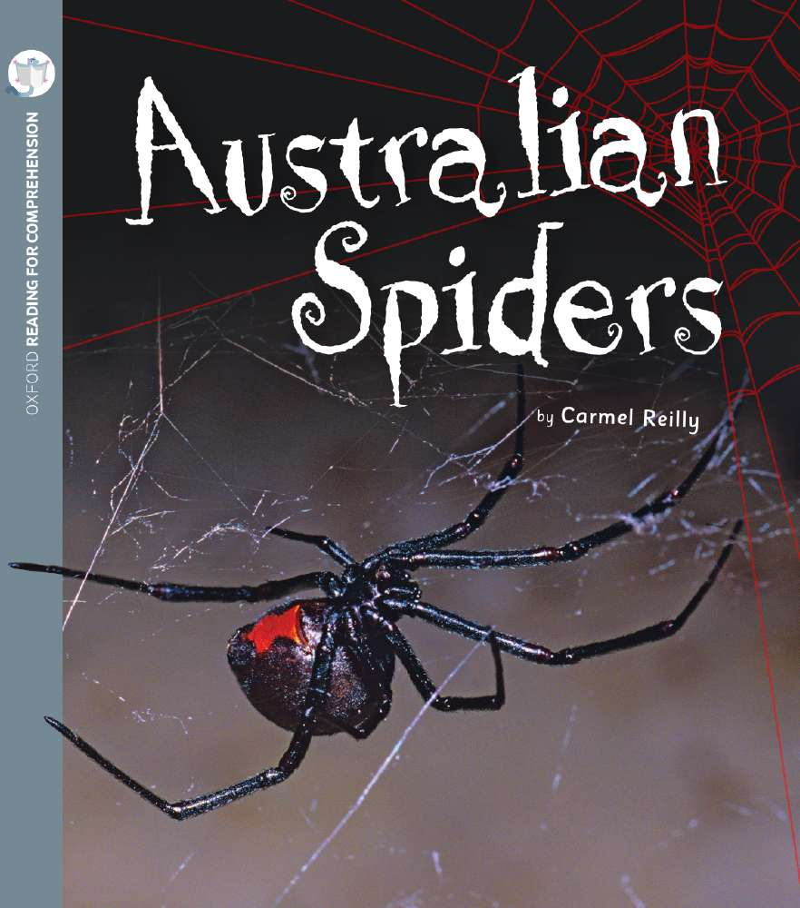 Australian Spiders: Oxford Level 7: Pack of 6 with Comprehension Card
