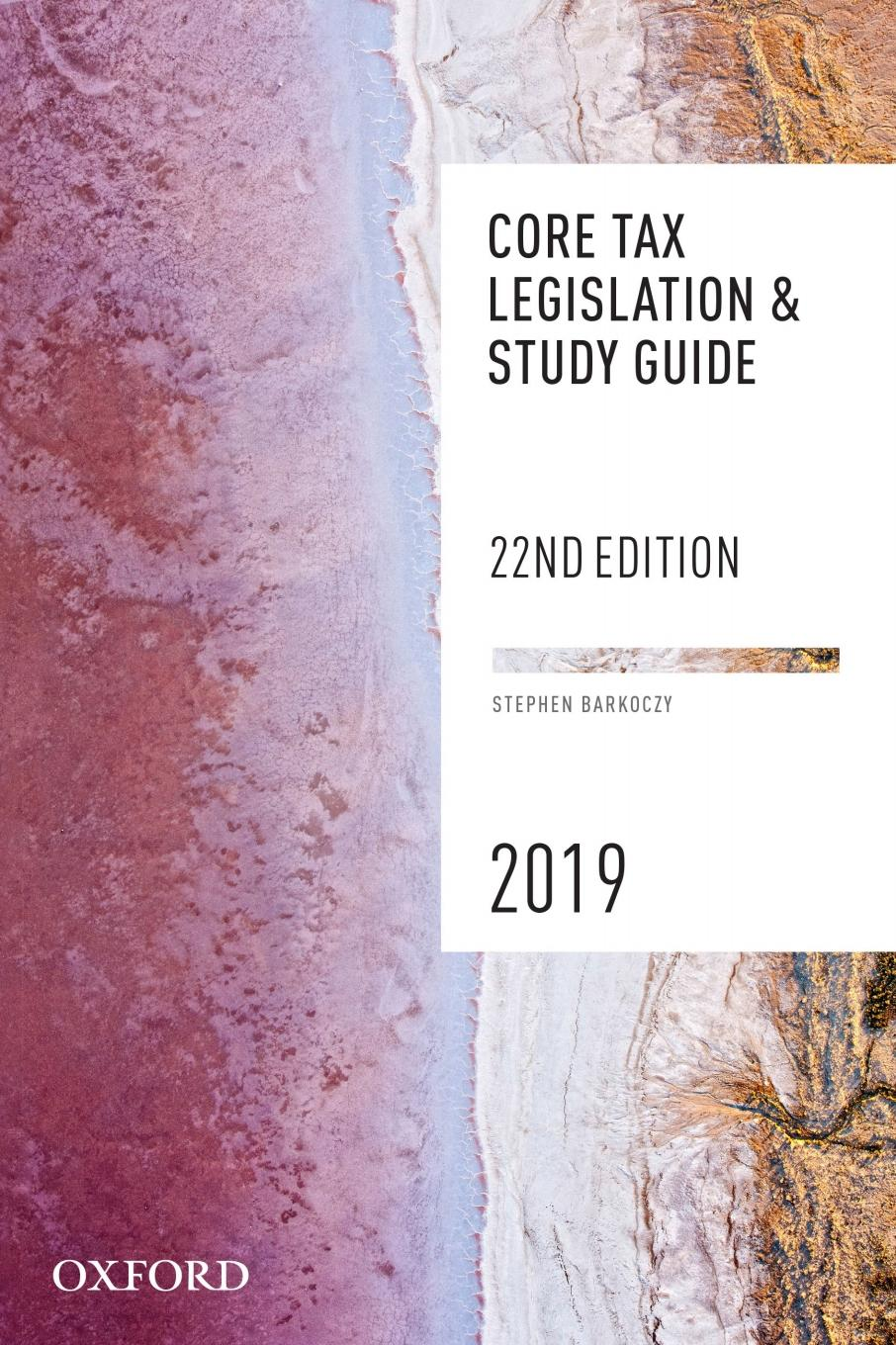Core Tax Legislation and Study Guide 2019 eBook