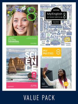 Oxford Value Pack Victorian Curriculum Year 8 2020 edition (print+digital)
