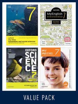Oxford Value Pack Western Australian Curriculum Year 7 2020 (print+digital)