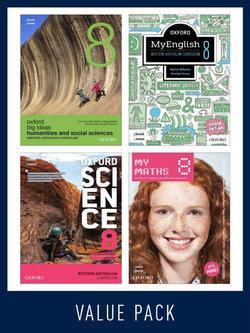 Oxford Value Pack Western Australian Curriculum Year 8 2020 (print+digital)
