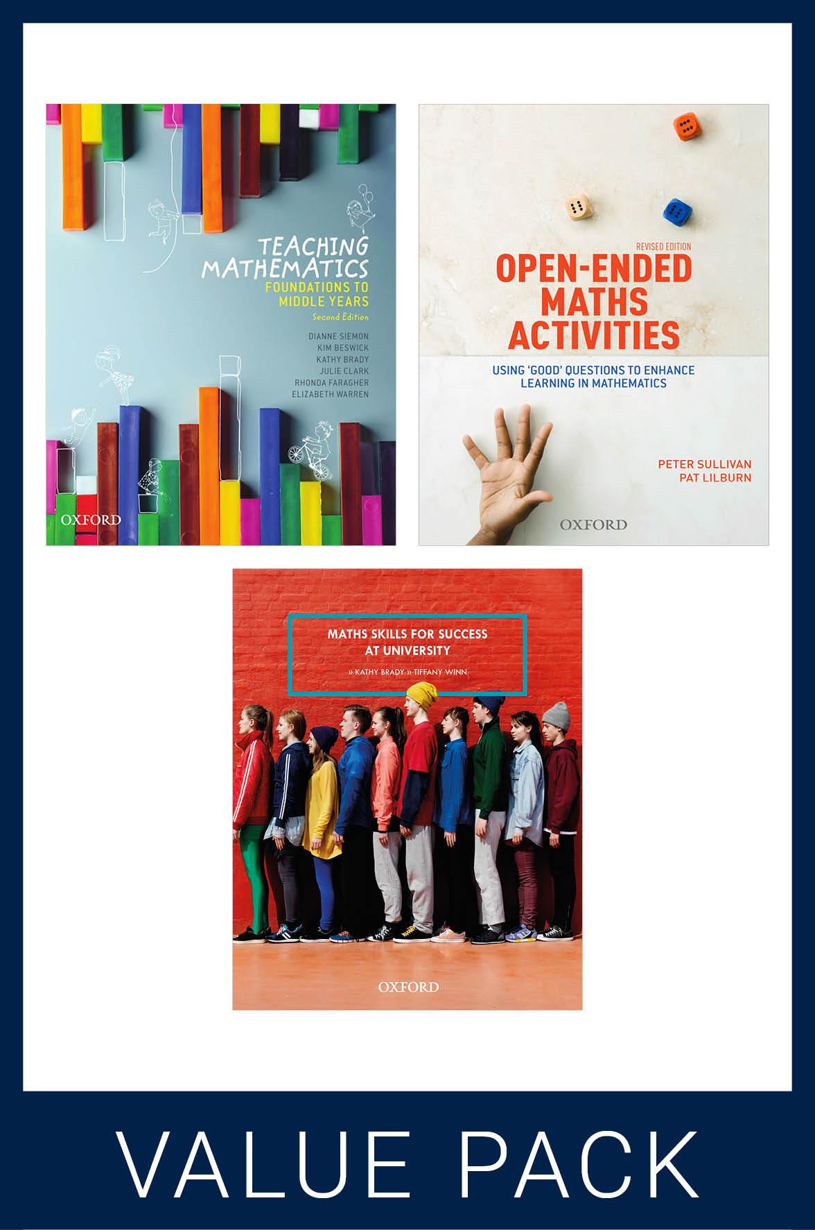 Canberra University Maths Education Value Pack
