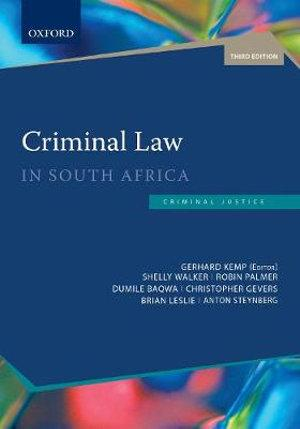 Criminal Law in South Africa