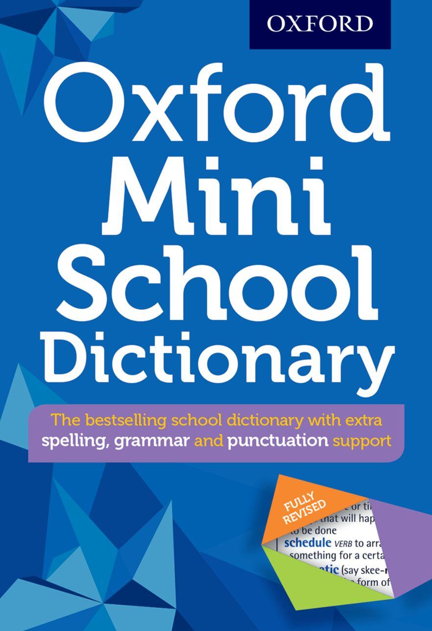 Oxford Mini School Dictionary 2016