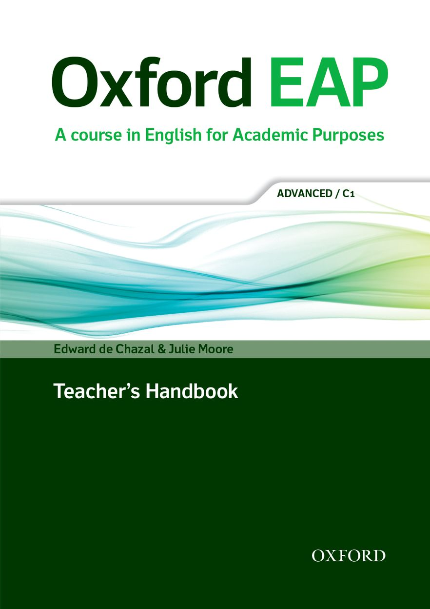 Oxford EAP C1 Teachers Book & DVD Pack