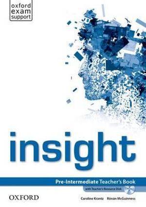 Insight Pre-Intermediate Teacher's Book and Teacher's Resource Disk Pack