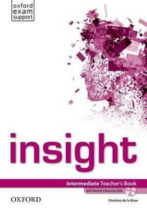 Insight Intermediate Teacher's Book and Teacher's Resource Disk Pack