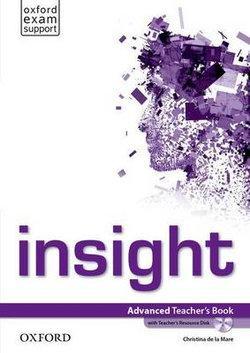 Insight Advanced Teacher's Book with Teacher's Resource Disk